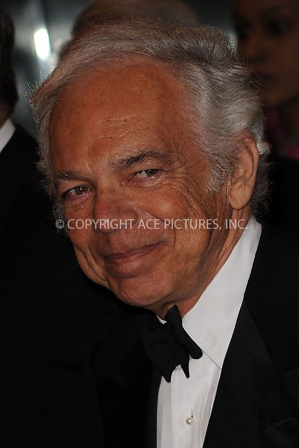 WWW.ACEPIXS.COM . . . . . ....December 1 2009, New York City....Designer Ralph Lauren arriving at the Museum of The Moving Image salutes Clint Eastwood at 583 Park on December 1, 2009 in New York City. ....Please byline: KRISTIN CALLAHAN - ACEPIXS.COM.. . . . . . ..Ace Pictures, Inc:  ..(212) 243-8787 or (646) 679 0430..e-mail: picturedesk@acepixs.com..web: http://www.acepixs.com