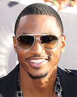 LOS ANGELES, CA, USA - AUGUST 24: Trey Songz at the 2014 MTV Video Music Awards held at The Forum on August 24, 2014 in the Los Angeles, California, United States. (Photo by Xavier Collin/Celebrity Monitor)