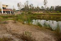A group of biologists and amateurs are seen during the walk for bird watching at the National School of Higher Studies (ENES) in the municipality of Morelia, Michoacán. .<br /> (Photo: AdidJimenez / nortephoto.com)<br /> <br /> <br /> Un grupo de biólogos y aficionados son vistos durante la caminata para la observación de aves en la Escuela Nacional de Estudios Superiores (ENES) en el municipio de Morelia, Michoacán. .<br /> (Photo: AdidJimenez/nortephoto.com)