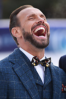"Jason Gardiner<br /> at the ""Dancing on Ice"" launch photocall, natural History Museum, London<br /> <br /> <br /> ©Ash Knotek  D3365  19/12/2017"