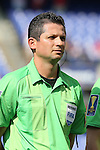 18 July 2015: Referee Henry Bejarano (CRC). The United States Men's National Team played the Cuba Men's National Team at M&T Bank Stadium in Baltimore, Maryland in a 2015 CONCACAF Gold Cup quarterfinal match. The U.S. won the game 6-0.
