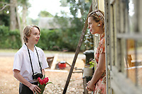 The Butterfly Tree (2017)<br /> Melissa George &amp; Ed Oxenbould<br /> *Filmstill - Editorial Use Only*<br /> CAP/MFS<br /> Image supplied by Capital Pictures
