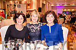 THE WIVES OF INTERNAZIONALE: The Moriarty sisters Eileen Cooper, Sally McSweeney and Mary Kennedy relaxing at the .after match gala dinner