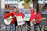 Sinead to caption:..From l-r were: Ciara O'Connor, Jason Brick, Bryan Carr, Danny Roche, Danny Leane, Sean Horgan and Richard O'Halloran.