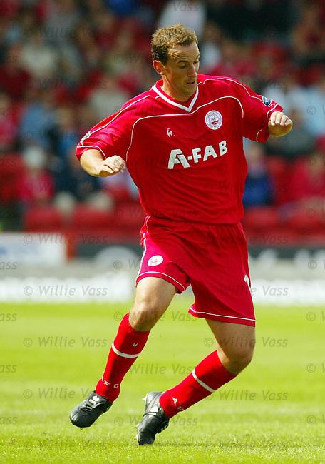 Paul Sheerin, Aberdeen.stock season 2003-04..pic willie vass