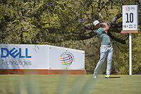 Kevin Chappell (USA) watches his tee shot on 10 during round 1 of the World Golf Championships, Dell Match Play, Austin Country Club, Austin, Texas. 3/21/2018.<br /> Picture: Golffile | Ken Murray<br /> <br /> <br /> All photo usage must carry mandatory copyright credit (&copy; Golffile | Ken Murray)