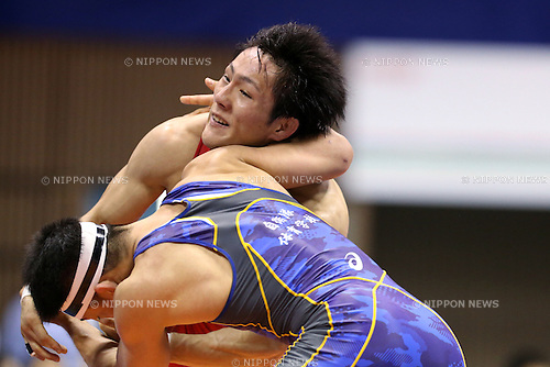 Shota Tanokura, <br /> MAY 29, 2016 - Wrestling : <br /> Meiji Cup All Japan Invitational Wrestling Championships 2016 <br /> Men's Greco-Roman Style -59kg <br /> at 2nd Yoyogi Gymnasium, Tokyo, Japan. <br /> (Photo by AFLO SPORT)
