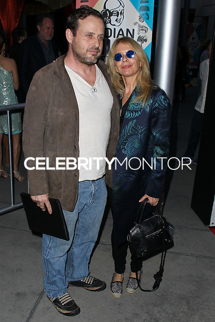 """HOLLYWOOD, LOS ANGELES, CA, USA - APRIL 08: Richmond Arquette, Rosanna Arquette at the Indian Film Festival Of Los Angeles 2014 - Opening Night Screening Of """"Sold"""" held at ArcLight Cinemas on April 8, 2014 in Hollywood, Los Angeles, California, United States. (Photo by Xavier Collin/Celebrity Monitor)"""