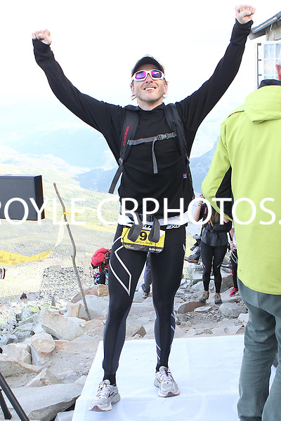Race number 196 Martin H-H Swanstrom- Norseman Xtreme Tri 2012 - Norway - photo by chris royle/ boxingheaven@gmail.com