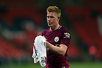 Kevin De Bruyne of Manchester City after Tottenham Hotspur vs Manchester City, Premier League Football at Wembley Stadium on 14th April 2018