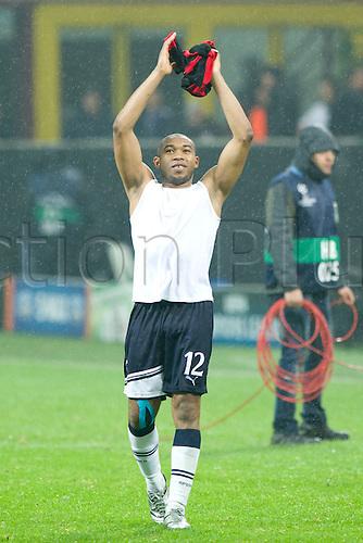15.02.2011 Champions League, San Siro Meazza Stadium, Milan, Italy. AC Milan v Tottenham Hotspur, 0-1. Picture shows Wilson Palacios (Tottenhan).