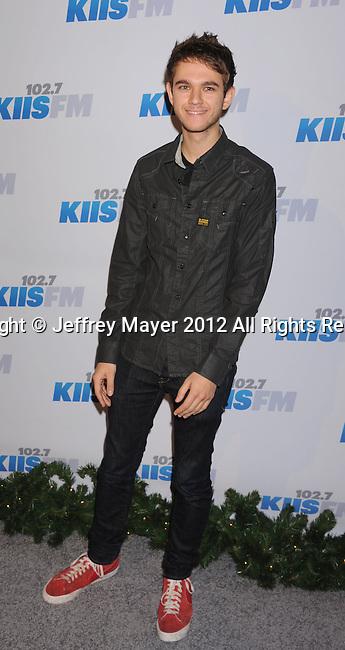 LOS ANGELES, CA - DECEMBER 03: Zedd attends the KIIS FM's Jingle Ball 2012 held at Nokia Theatre LA Live on December 3, 2012 in Los Angeles, California.