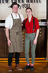 Chef Bryce Shuman and bartender Jillian Vose attends to the inauguration party of the Seagram's New York Hotel at Only You in Madrid, Spain. November 30, 2016. (ALTERPHOTOS/BorjaB.Hojas)