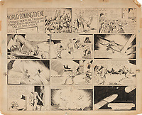 Artwork for the first ever Flash Gordon comic has sold for a world record price of £390,000
