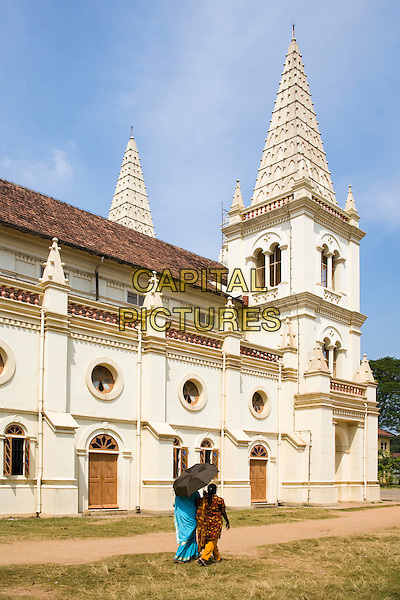 Santa Cruz Cathedral, Fort Cochin, Cochin, Kerala, India