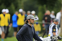 Martin Wiegele (AUT) on the 5th tee during Round 3 of the D+D Real Czech Masters at the Albatross Golf Resort, Prague, Czech Rep. 02/09/2017<br /> Picture: Golffile | Thos Caffrey<br /> <br /> <br /> All photo usage must carry mandatory copyright credit     (&copy; Golffile | Thos Caffrey)