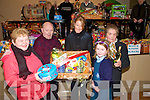Winners: The winners of the first raffle at the Annua lListowel Bizarre held at Scoil Realta na Madaine on Friday night last. Siobhaian  Kennekky, Ballylongford. Billy Moloney, Denise & Rachael Costello, Listowel and Josie Stack , Tarbert.