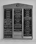 Memorial plaque in Newlyn's Fishermen's Mission, which commemorates the men who have lost their lives at sea around the coast of Newlyn, most of whom have no known grave.