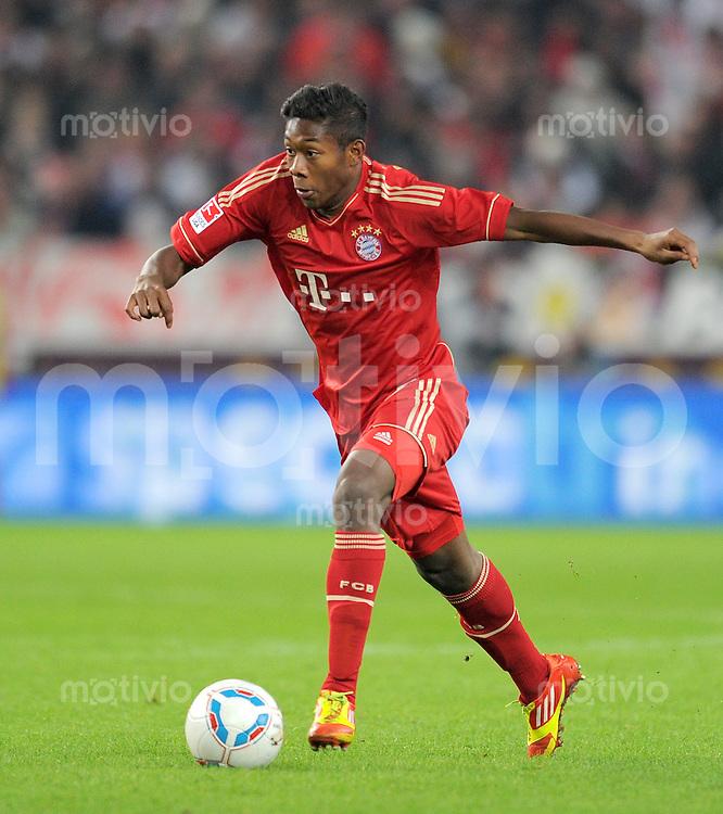 Fussball 1. Bundesliga:  Saison   2011/2012    16. Spieltag VfB Stuttgart - FC Bayern Muenchen  11.12.2011 David Alaba (FC Bayern Muenchen)