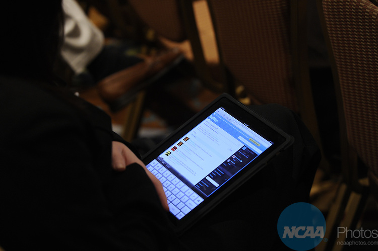 14 JAN 2011: The Division I Enforcement Overview and Trends session at the 2011 NCAA Convention held at the Grand Hyatt and Convention Center in San Antonio, TX. Stephen Nowland/NCAA Photos .Pictured: