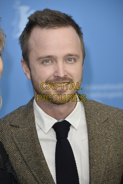 BERLIN, GERMANY - FEBRUARY 10 - Aaron Paul attending the Long Way Down Photocall,  at the Berlin Film Festival, on Monday, February 10, 2014<br /> <br /> CAP/AAP<br /> &copy;AAP/Capital Pictures