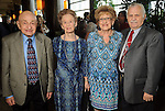 From left: Bill and Edie Olin with Ahuva and Sol Stopnicki at the Holocaust Museum Houston's Guardian of the Human Spirit Luncheon at the Hilton Americas Hotel Monday Nov.18, 2013. (Dave Rossman photo)