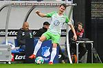 Robin Knoche (#31, VfL Wolfsburg) am Ball beim Spiel in der Fussball Bundesliga, TSG 1899 Hoffenheim - VfL Wolfsburg.<br /> <br /> Foto &copy; PIX-Sportfotos *** Foto ist honorarpflichtig! *** Auf Anfrage in hoeherer Qualitaet/Aufloesung. Belegexemplar erbeten. Veroeffentlichung ausschliesslich fuer journalistisch-publizistische Zwecke. For editorial use only.