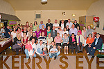 RUBY ANNIVERSARY: Sonny and Elise Healy, Spa Road (seated 4th & 5th left) enjoying a great time celebrating their 40th anniversary with a very large group of family and friends at the Austin Stacks clubhouse on Friday.