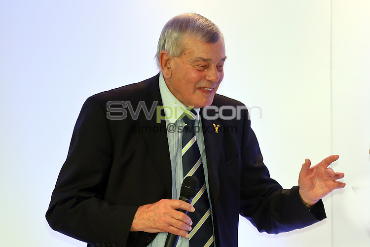 Picture by Alex Whitehead/SWpix.com - 04/04/2014 - Cricket - Yorkshire County Cricket Club - YCCC Annual Lunch - Headingley, Leeds, England - Dickie Bird