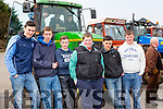 Padraid o'Sullivan Listry, Andrew Boyle, Michael Clifford both Castslemaine, robert Giles, eoin Blake Faha and Adam fleming