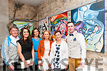 "Art Exhibition : Michael Kelliher, Listowel pictured with his family at the opening of his exhibition ""Mortas Aite Dhuchais"" (Pride of Place) at St. John's Arts Centre, Listowel on Friday night last. L-R: Donal, Aoife, Deidre, Fiona, Eileen & Michael Kelliher."