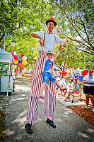 Families celebrate City Fest at Cambier Park, Naples, Florida, USA. Photo by Debi Pittman Wilkey