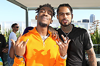 BEVERLY HILLS, CA - JUNE 22: Desiigner and Dave East at  The Def Jam Recordings BETX celebration at Spring Place Beverly Hills in partnership with Puma, Courvoisier, Beats and Heineken on June 22, 2019 in Beverly Hills, California.  Credit: Walik Goshorn/MediaPunch