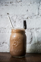 Chocolate Milkshake. Butchers and Sons Restaurant, Colonia Roma, mexico City, Mexico