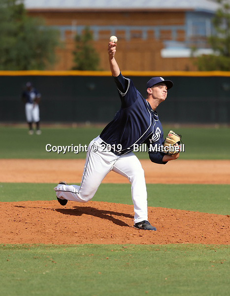 Keegan Collett - 2019 AIL Padres (Bill Mitchell)