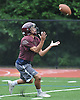 The North Shore varsity football team practices at North Shore High School in Glen Head on Thursday, Aug. 18, 2016.