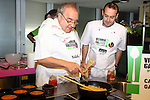 Vitoria Gasteiz-Capital de la Gastronomia 2014.<br /> Presentacion en Barcelona-Mercat de la Boqueria.<br /> Enrique Fuentes &amp; Mikel Zuazo.