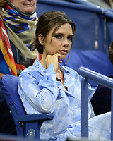 FLUSHING NY- AUGUST 29: ***NO NY DAILIES***   Victoria Beckham is seen watching Madison Keys Vs Elise Mertens at The 2017 US Open Tennis at the USTA Billie Jean King National Tennis Center on August 29, 2017 in Flushing Queens. Credit: mpi04/MediaPunch