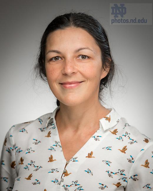 May 11, 2017; Roxana Smarandache, Professor of Mathematics and Electrical Engineering, University of Notre Dame (Photo by Matt Cashore/University of Notre Dame)