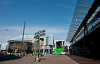 The Arena Boulevard in the Zuidoost part of Amsterdam (Holland, 17/04/2011)