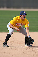 January 16, 2010:  Jacinto Garcia (Calexico, CA) of the Baseball Factory California Team during the 2010 Under Armour Pre-Season All-America Tournament at Kino Sports Complex in Tucson, AZ.  Photo By Mike Janes/Four Seam Images