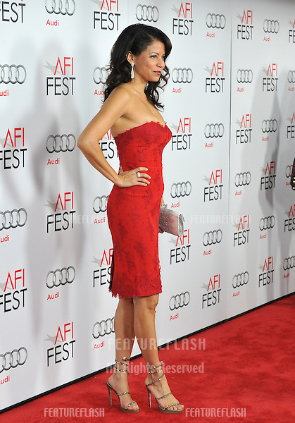 "Gloria Reuben at the AFI Fest premiere of her movie ""Lincoln"" at Grauman's Chinese Theatre, Hollywood..November 8, 2012  Los Angeles, CA.Picture: Paul Smith / Featureflash"
