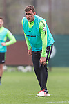 14.04.2018, Trainingsgelaende, Bremen, GER, 1.FBL, Training SV Werder Bremen<br /> <br /> im Bild<br /> Max Kruse (Werder Bremen #10) mit Schmerzen nach Duell / Zweikampf, <br /> <br /> Foto &copy; nordphoto / Ewert