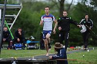 FIERLJEPPEN: BUITENPOST: 23-05-2015, Nard Brandsma wint met 20.34m, ©foto Martin de Jong