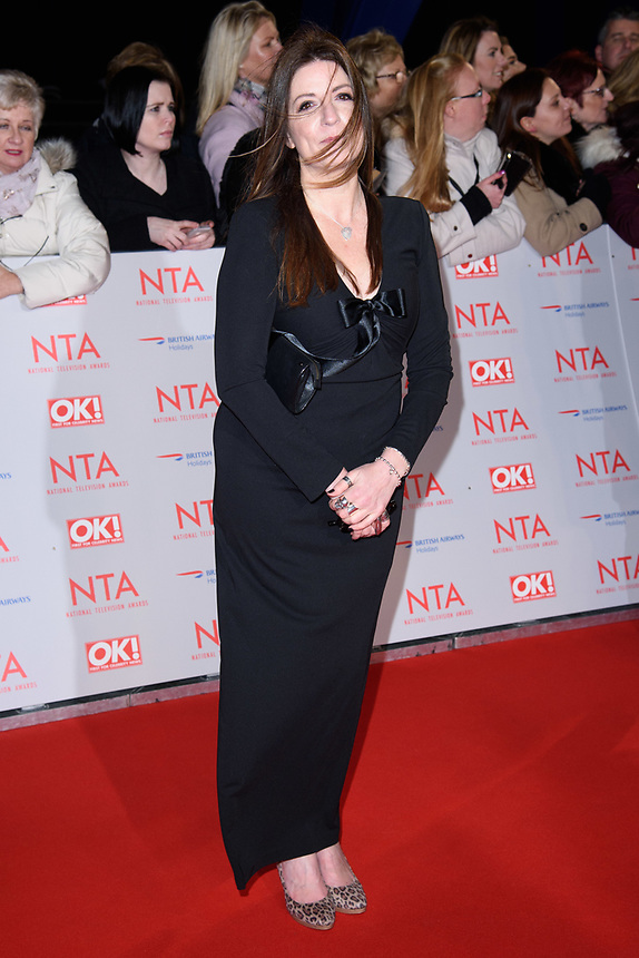 Katherine Dow Blyton<br /> arriving for the National Television Awards 2018 at the O2 Arena, Greenwich, London<br /> <br /> <br /> ©Ash Knotek  D3371  23/01/2018