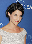 BEVERLY HILLS, CA- OCTOBER 30: Actress Cobie Smulders arrives at the Oceana Partners Award Gala With Former Secretary Of State Hillary Rodham Clinton and HBO CEO Richard Plepler at Regent Beverly Wilshire Hotel on October 30, 2013 in Beverly Hills, California.