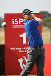 ISPS Handa Wales Open Pro_Am<br /> Robert Karlsson teeing off on the first hole.<br /> Celtic Manor Resort<br /> 17.09.14<br /> ©Steve Pope-SPORTINGWALES