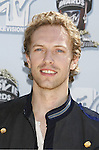Singer/Musician Chris Martin of Coldplay arrives to the 2008 MTV Movie Awards on June 1, 2008 at the Gibson Amphitheatre in Universal City, California.
