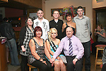 Amanda Wogan with her family at her 21st in the Rugby Club...Photo NEWSFILE/Jenny Matthews.(Photo credit should read Jenny Matthews/NEWSFILE)....This Picture has been sent you under the condtions enclosed by:.Newsfile Ltd..The Studio,.Millmount Abbey,.Drogheda,.Co Meath..Ireland..Tel: +353(0)41-9871240.Fax: +353(0)41-9871260.GSM: +353(0)86-2500958.email: pictures@newsfile.ie.www.newsfile.ie.FTP: 193.120.102.198.