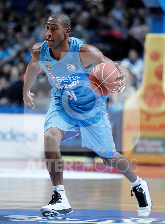 Asefa Estudiantes' Jayson Granger during Liga Endesa ACB match.November 11,2012. (ALTERPHOTOS/Acero)